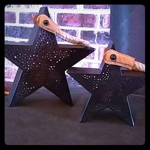 Star Shaped Decorative Lantern's Hallmark NWT